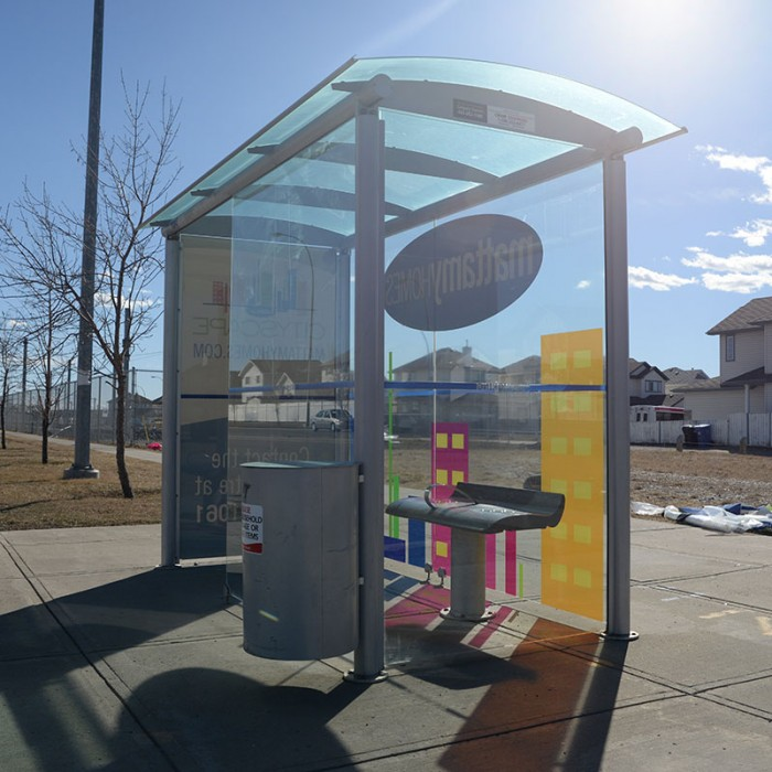 Mattamy Homes Bus Shelter