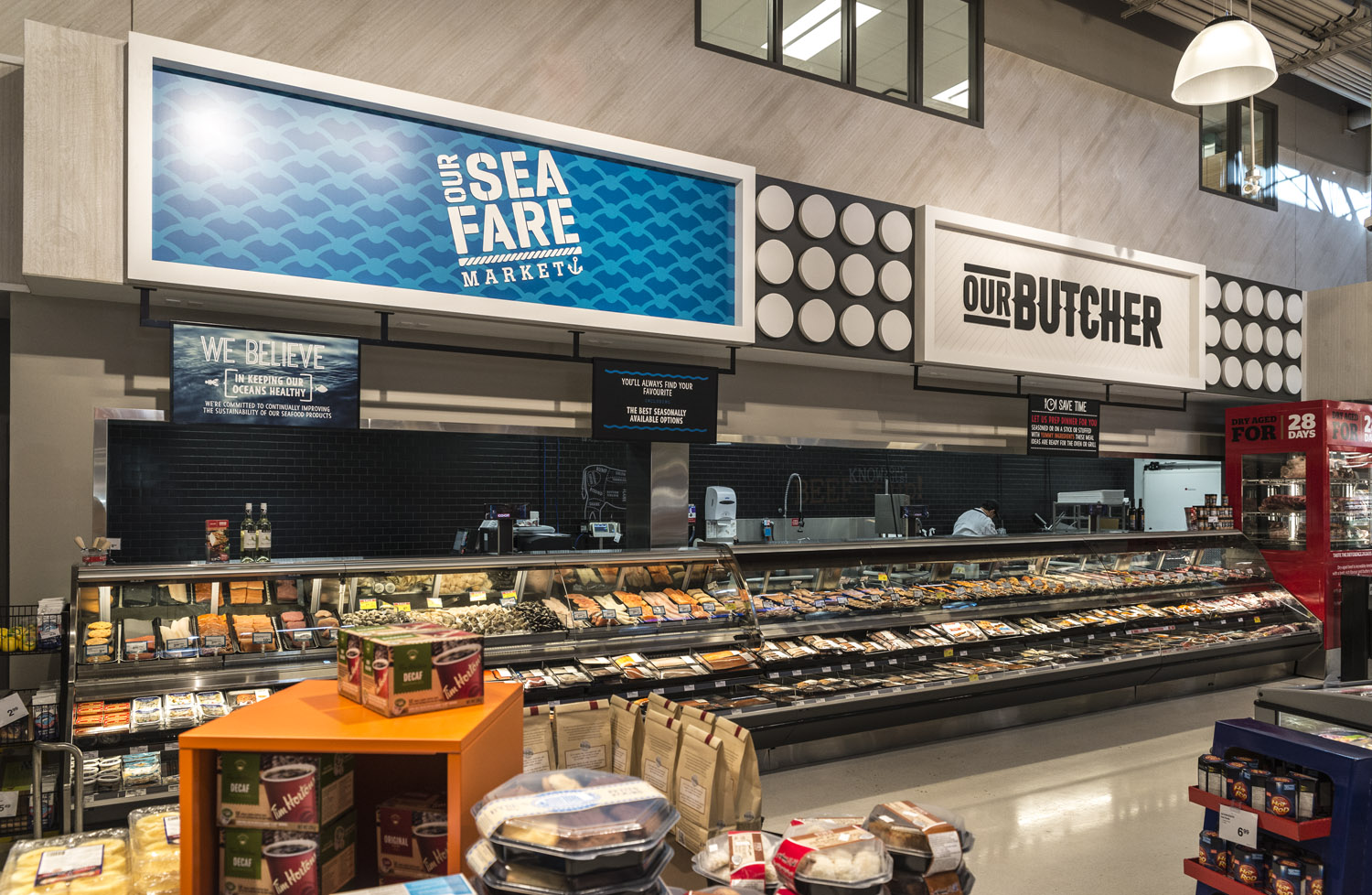 Meats Department Signage